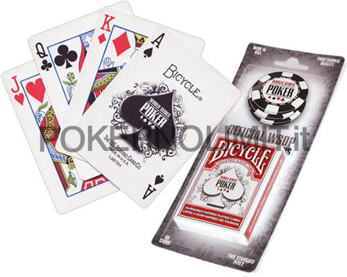 accessori poker e giochi carte da poker bicycle wsop. Black Bedroom Furniture Sets. Home Design Ideas