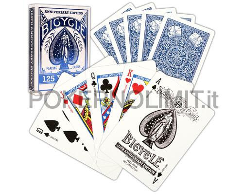 accessori poker e giochi carte bicycle 125th. Black Bedroom Furniture Sets. Home Design Ideas