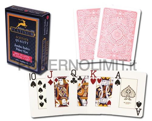 accessori poker e giochi carte modiano platinum. Black Bedroom Furniture Sets. Home Design Ideas