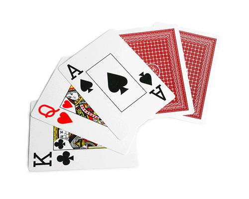 accessori poker e giochi 52 carte poker 100 plastica. Black Bedroom Furniture Sets. Home Design Ideas