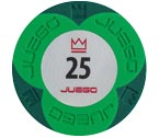 accessori per il poker - Juego - 100 Fiches Pro Embossed valore 25
