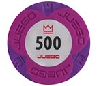 accessori per il poker - Juego - 100 Fiches Pro Embossed valore 500
