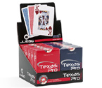 accessori per il poker - Display 12 mazzi - Carte Juego Texas Hold'Em Casinò Pro Blu-Rosse