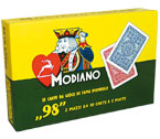 accessori per il poker - Carte Modiano - Ramino 98 (2 Mazzi)
