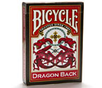 Carte Bicycle - Dragon Back (Rosso)