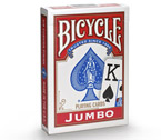 Carte Bicycle - Jumbo Rider Back (Rosso)