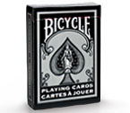 Carte Bicycle - Standard Rider Back (Silver)
