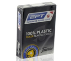 accessori per il poker - Carte poker Fournier EPT Gold Edition 100% Plastic blu