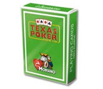 accessori per il poker - Carte Modiano - Texas Poker Plastica (Verde Chiaro)