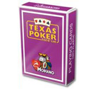 accessori per il poker - Carte Modiano - Texas Poker Plastica (Viola)