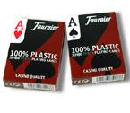 accessori per il poker - Display 12 mazzi - Carte Fournier 2800 Texas Hold 'Em - 100% plastica