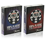 accessori per il poker - Display 12 mazzi - Carte Fournier  WSOP 100% plastica