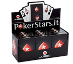 accessori per il poker - Carte Pokerstars Official (Display 12 mazzi) - Juego