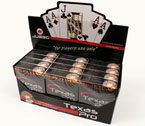 accessori per il poker - Display 12 mazzi - Carte poker Juego Texas Hold 'em Casinò Pro
