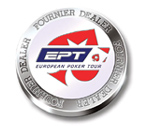 accessori per il poker - Button dealer EPT Fournier Texas Hold 'Em