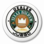 accessori per il poker - Button Dealer Juego - Texas Hold 'em