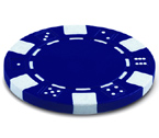 accessori per il poker - Juego - 100 Fiches Dice 11,5 gr. Blu