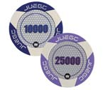 poker - Juego - 100 Fiches Tournament  valori 10000/25000