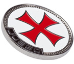accessori per il poker - Juego - Card Guard Templar Cross