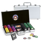 Set completo 300 fiches Pro Embossed - Juego