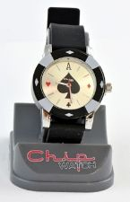 ChipWatch - Orologio Poker Nero