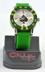 ChipWatch - Orologio Poker Verde