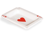 Posacenere Cuori - Playing Card Ashtray