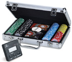 accessori per il poker - Set Completo Pro Team 200 - Fiches FITH Juego