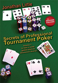Libro di poker - secrets of professional tournament poker 1 di jonathan little